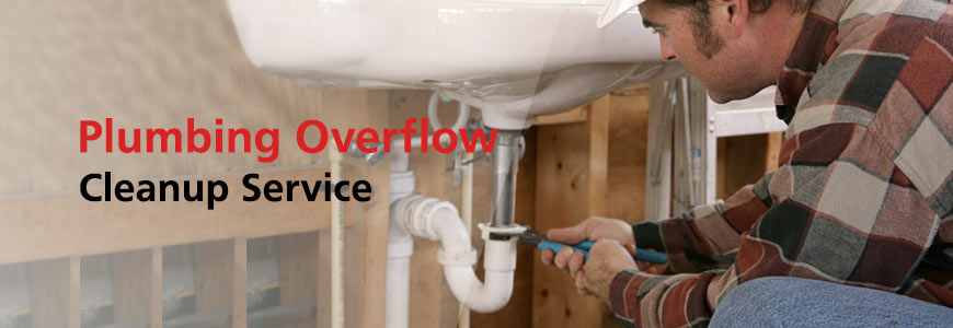 Plumbing Overflow Cleanup Service in Greater Tulsa